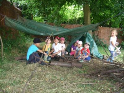 Farewell to Forest School for the Reception Class