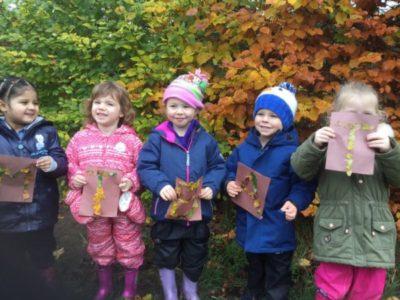 Nursery Forest School, 16 November 2017