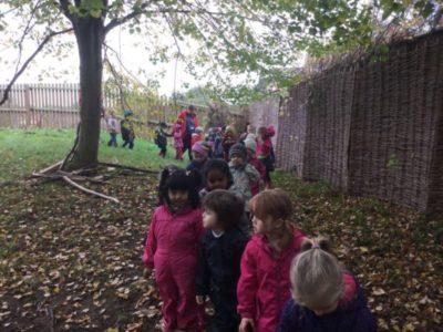 Nursery Forest School, 2 November 2017