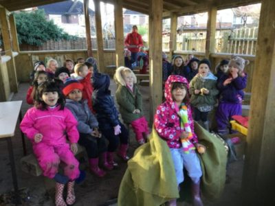 Nursery Forest School, 23 November 2017