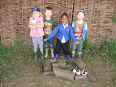 Week 3 at Forest School for Reception Class