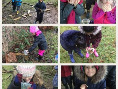 Year 1 – Forest School 8th January 2018