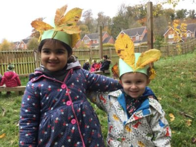 Nursery Forest School, 9 November 2017