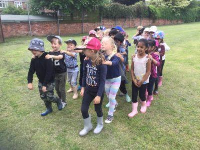Reception Forest School Week 1